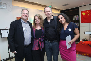 Founders and Marketing Director in 2014 at Fundraiser for XiErSen, ELG's sister NGO